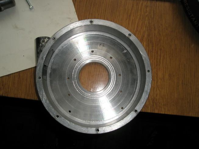 Корпус турбины Тесла